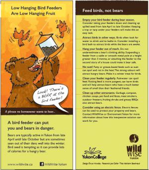 Wildwise bird feeder flyer